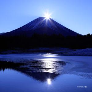 01月ダイヤモンド富士